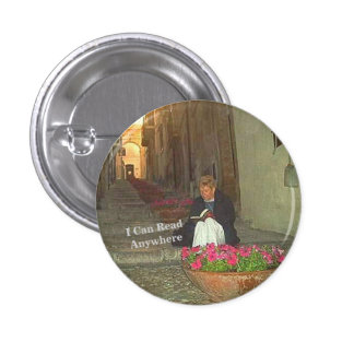 City Abstract Design 1 Inch Round Button