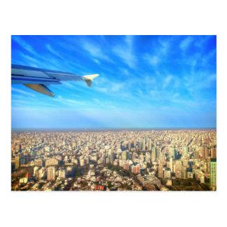City airport Jorge Newbery AEP Postcard