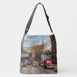 City - Amsterdam NY - Downtown Amsterdam 1941 Crossbody Bag