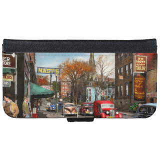 City - Amsterdam NY - Downtown Amsterdam 1941 iPhone 6 Wallet Case