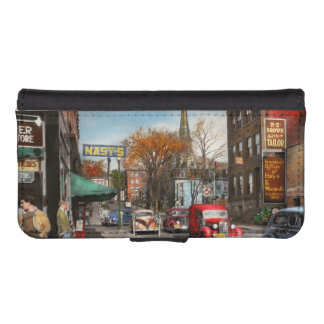 City - Amsterdam NY - Downtown Amsterdam 1941 iPhone SE/5/5s Wallet Case