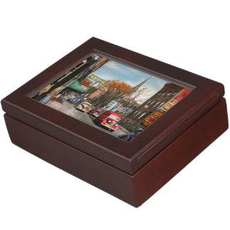 City - Amsterdam NY - Downtown Amsterdam 1941 Keepsake Box
