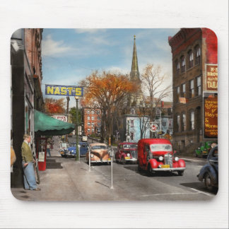 City - Amsterdam NY - Downtown Amsterdam 1941 Mouse Pad