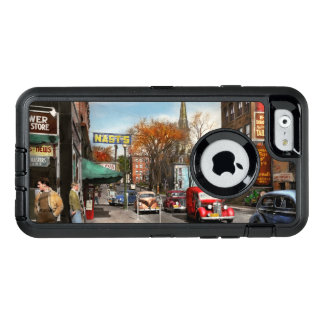 City - Amsterdam NY - Downtown Amsterdam 1941 OtterBox Defender iPhone Case