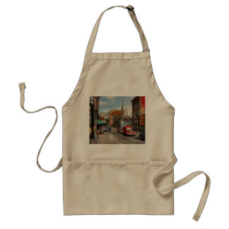 City - Amsterdam NY - Downtown Amsterdam 1941 Standard Apron