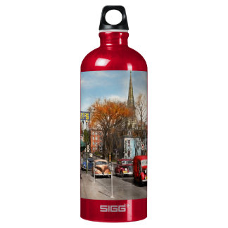 City - Amsterdam NY - Downtown Amsterdam 1941 Water Bottle
