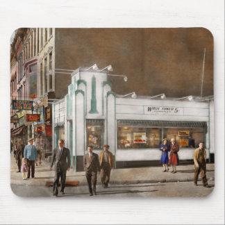 City - Amsterdam NY - Hamburgers 5 cents 1941 Mouse Pad