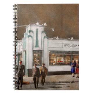 City - Amsterdam NY - Hamburgers 5 cents 1941 Notebooks