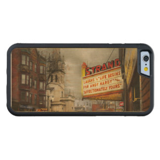 City - Amsterdam NY - Life begins 1941 Carved Maple iPhone 6 Bumper Case