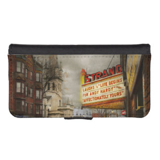 City - Amsterdam NY - Life begins 1941 iPhone SE/5/5s Wallet Case