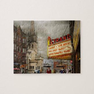 City - Amsterdam NY - Life begins 1941 Jigsaw Puzzle
