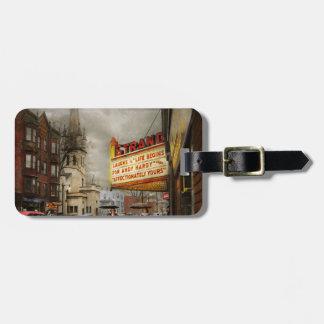 City - Amsterdam NY - Life begins 1941 Luggage Tag
