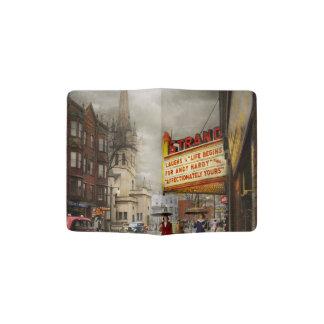 City - Amsterdam NY - Life begins 1941 Passport Holder