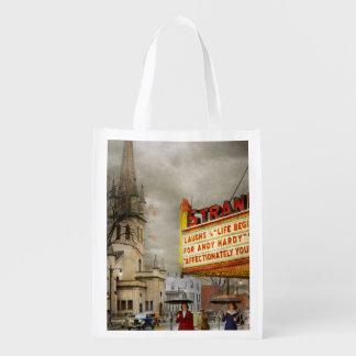 City - Amsterdam NY - Life begins 1941 Reusable Grocery Bag