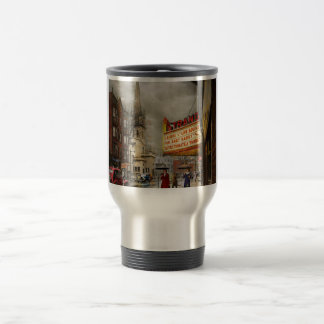 City - Amsterdam NY - Life begins 1941 Travel Mug