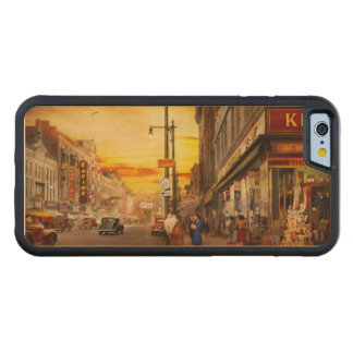 City - Amsterdam NY - The lost city 1941 Carved Maple iPhone 6 Bumper Case
