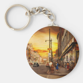 City - Amsterdam NY - The lost city 1941 Keychain