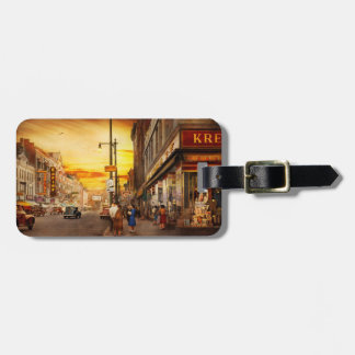 City - Amsterdam NY - The lost city 1941 Luggage Tag