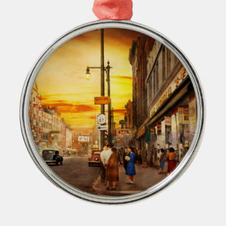 City - Amsterdam NY - The lost city 1941 Metal Ornament