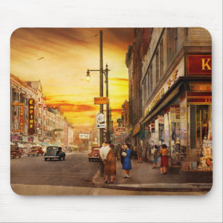 City - Amsterdam NY - The lost city 1941 Mouse Pad