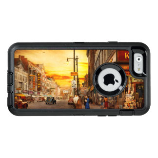 City - Amsterdam NY - The lost city 1941 OtterBox Defender iPhone Case