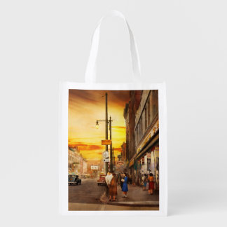 City - Amsterdam NY - The lost city 1941 Reusable Grocery Bag