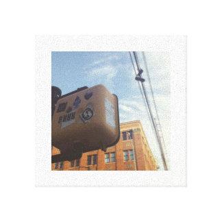 City Asthetic Canvas Print