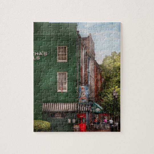 City - Baltimore, MD - Fells Point, MD - Bertha's  Jigsaw Puzzle
