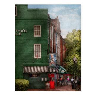 City - Baltimore, MD - Fells Point, MD - Bertha's  Postcard