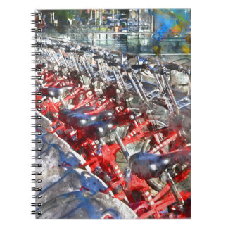 City Bicycles in Barcelona Notebooks
