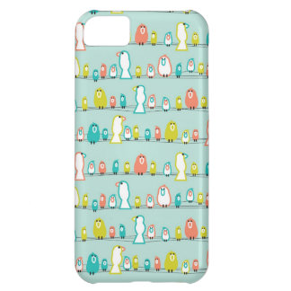City Birds Case For iPhone 5C