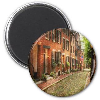City - Boston MA - Acorn Street Magnet