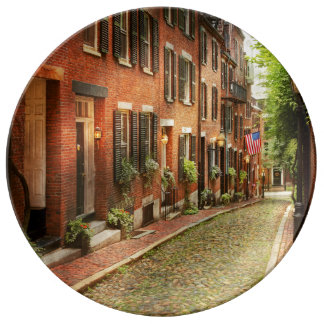 City - Boston MA - Acorn Street Plate