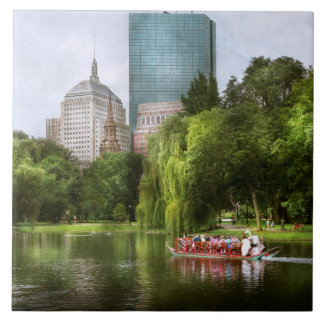 City - Boston Ma - Boston public garden Tile