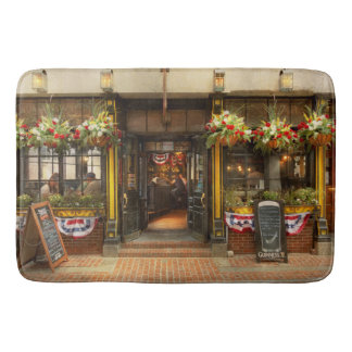 City - Boston MA - For the weary traveler Bath Mat