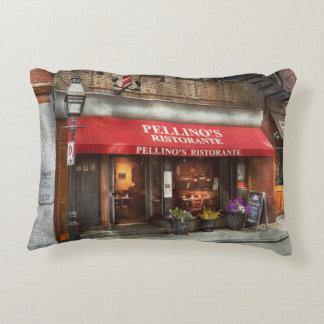 City - Boston, MA - Pellino's Ristorante Accent Pillow