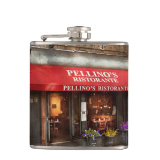 City - Boston, MA - Pellino's Ristorante Flasks