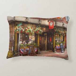 City - Boston MA - The Green Dragon Tavern Accent Pillow