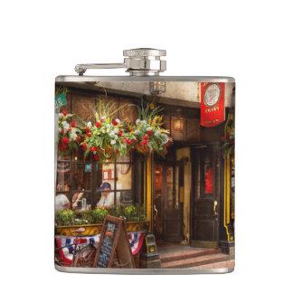 City - Boston MA - The Green Dragon Tavern Flask