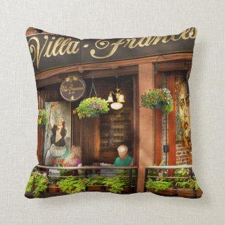 City - Boston MA - Villa Francesca Throw Pillow