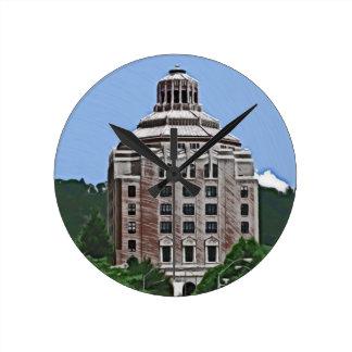 City Building, Asheville, NC Clock