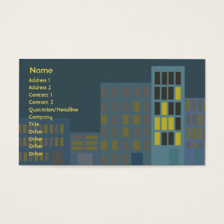 City - Business Business Card