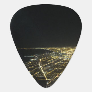 City by Night Guitar Pick