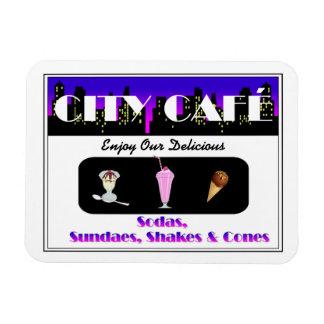 City Café Magnet
