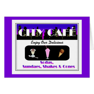City Café Purple Card