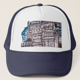 City cafe trucker hat