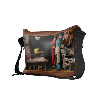 City - California - Fish Alley smells fowl 1886 Commuter Bag