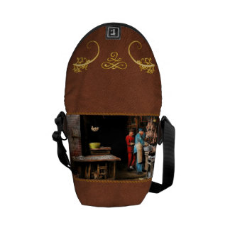 City - California - Fish Alley smells fowl 1886 Courier Bag