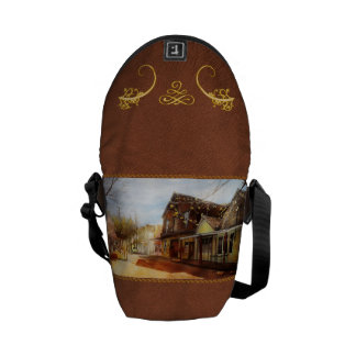 City - California - The town of Downieville 1933 Commuter Bags