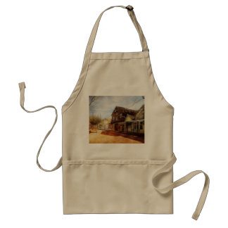 City - California - The town of Downieville 1933 Standard Apron